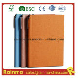Leather Cover Paper Notebook for Business Gift