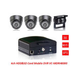 4G/3G GPS WiFi Mobile DVR for Car Video Recording, with Night Vision Car Camera