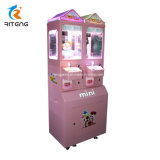 Mini Crane Gift Vending Game Machines with Multiple Coin Acceptor