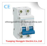 Dz47le-63-3p Current Action Electronic Earth Leakage Circuit Breaker