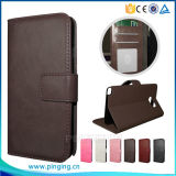 Leather Card Holder Phone Case for Alcatel One Touch Pop up Ot6044
