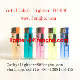 Refill Gas/Disposable Electric Lighter Cheap and Best Quality in Lighter Manufacturer Fh-846