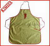 100% Cotton Kitchen Cooking Cheap Apron with Ties