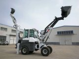 Haiqin Brand Small Backhoe Loader (WZ15-10) with Telescopic Arm
