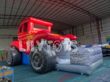 Inflatable Large Red Car Slide