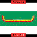 Baccarat Table Layout 15 P Oval (YM-BL18G)