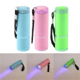 New Design Home Use Mini Flashlight Finger LED UV Nail Lamp