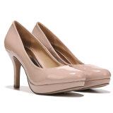Ladies Pump Heel Shoes Cheap PU Dress Party Shoes