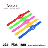 5 Colors Silicone Rubber Watch Strap Band Deployment Buckle Watchband