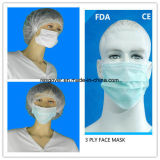 Non Woven Disposable 3ply Earloop Face Mask for Hospital