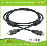 Black Color 19+1 HDMI 2.0 Cable