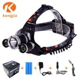 Zoomable T6 LED Headlamp Rechargeable Headlight Bicycle Head Light