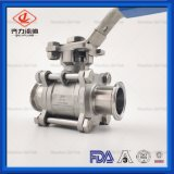 CF8m 316L Stainless Steel 3A Sanitary Encapsulated 2-Way Ball Valve