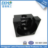 Precision Metal CNC Machining Parts Black Anodized