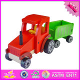 2016 Wholesale Toddlers Wooden Toy Trucks and Cars, New Fashion Kids Wooden Toy Trucks and Cars W04A306