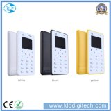 Chinese Factory Low Price X6 Card Mobile Phone Ultra Thin4.8mm