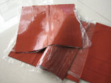 Dark Red Silicone Foam Sheet, Silicone Sponge Sheet for Ironing Table