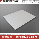 4mm Silver Brushed Aluminum Composite Panel for Exterior Wall Cladding