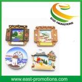 Customizd Logo Resin Magnet Souvenir Polyresin Fridge Magnet for Promotion