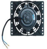 12V/24V Universal Auto Condenser Electric Cooling Fan with Square Frame