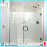 Modern Frameless Pivot Glass Shower Screen Shower Room Glass
