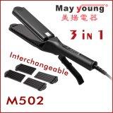 Wholesale 3 in 1 Ergonomic Scissors Digital Hair Straightener