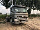 Wholesale Chinese Best Selling Used HOWO Brand Used Tractor Head Used Sinotruck HOWO Left Hand Tractor Truck 10 Tyres