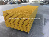 FRP/GRP Grating, Fiberglass Molded Grating with Gritted