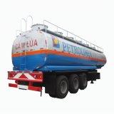 Chengli Cheaper Price 3 Axles Aluminum Stainless Steel Fuel Tanker Semi Trailer 36000 Liters 40000 Liters 45000 Liters 50000 60000 Liters Fuel Tank Trailer