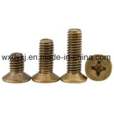 Wholesale Phillips Countersunk Brass Furniture Screw
