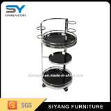 Modern Popular 3 Layers Metal Kitchen Trolley