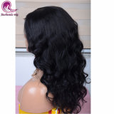 Water Wave Natural Black Glueless Full Lace Wig with Wholesale Price