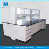 All Steel Pedestal Structure School Lab Bench Price