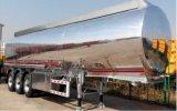 New Semi Trailer Price 40000litres Insulated Aluminum Alloy Fuel Tank Semi Trailer