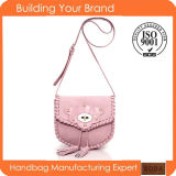2015 Promotional Pink Fashion Lady Sling Bag