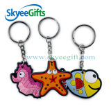 Custom Made High Quality 2D / 3D Soft Enamel PVC Keychain