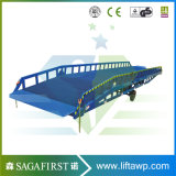 10ton 12ton Manual Hydraulic Mobile Container Dock Ramp Bridge