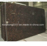 Hzx Tan Brown Granite Slabs Ramdom Size