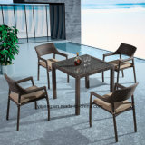 Good Quality Low Price Outdoor Dining Furniture with Stackable Chair&Kd Table