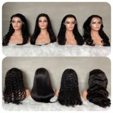 Factory Directly Sell Natural Color Lace Front Wig with Full Lace Wigs Brazilian Human Hair Wig