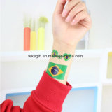 Promotional Gifts World Cup Fans National Country Mask Face Flag Temporary Tattoo Sticker