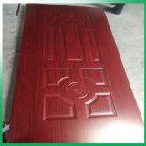 Woodgrain Texture Wood Veneer Door Skin, GRP FRP Door Skin Price SMC Composites Door