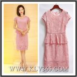 New Fashion Women Summer Elegant Lace Party Dress Wholesale