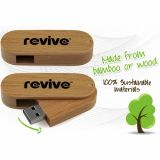 Wooden Bamboo Rotating USB Flash Drive/Pen Drive Wholesale with Top Quality Factory Price