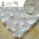 Wholesale Hand Tulle Light Color Flower Wedding Embroidery Lace Fabric for Dress