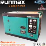 2kw/2kVA-10kw/10kVA Air Cooled Silent Diesel Power Portable Electric Generator