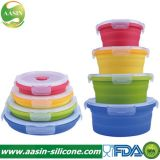 BPA Free Silicone Folding Eco Air-Tight Lunch Box