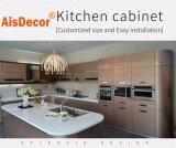 China Wholesale Glossy Customized Modern Metallic 2 PAC Polyurethane Lacquer Kitchen Cabinet