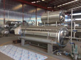 Stainless Steel Pouch Retort Sterilizer with Double Tanks