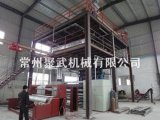 Jw2400 Single Die PP Spunbonded Nonwoven Machinery (035)